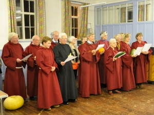 Choir at Social Evening