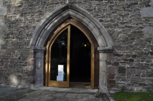 The New Porch Doors at Guilsfield Church