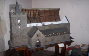 The Model of Guilsfield Church prior to the Victorian restoration